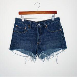 Levi's 501 Cut Off Denim Shorts Vintage